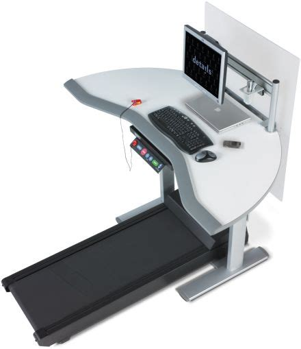 Computer Desk Treadmill Steelcase Treadmill Workstation Office Of The Future