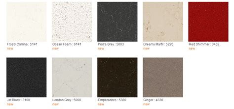 new colors caesarstone quartz countertops colors www pixshark com