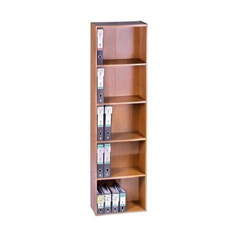 Lemari Vip jual vip bc 03 lemari arsip kayu tanpa pintu 5 ruang