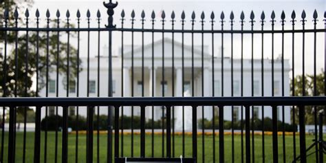 white house fence raise the white house fence secret service review says