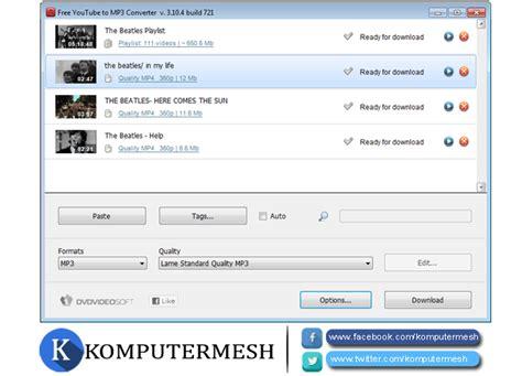 aplikasi download mp3 dari youtube untuk pc 6 aplikasi video youtube di pc laptop komputermesh