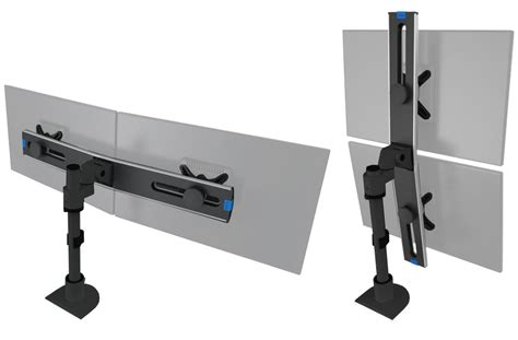 dual monitor arms for desk switch dual monitor arm caretta workspace