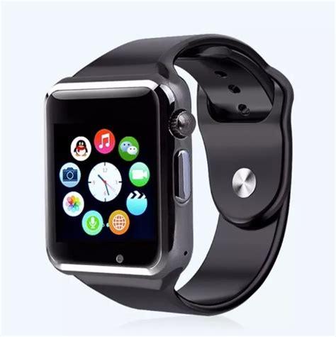 Jam Tangan Pintar Android U10 Black Gold Smartwatch rel 243 gio celular a1 smartwatch 3g chip android samsung app
