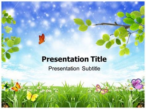 powerpoint template nature nature photos powerpoint templates ppt backgrounds slides