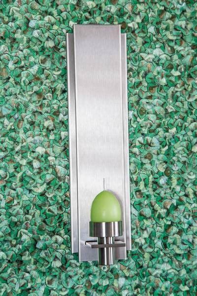 wandhalter kerzen wandhalter kerzen edelstahl buhlan metall design gmbh