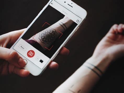 augmented reality tattoo now you can live preview tattoos on your skin with your