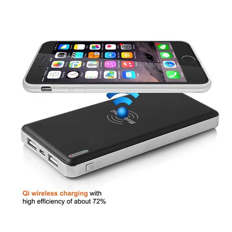 Power Bank Wireless Samsung wireless charger 10000mah power bank for samsung and