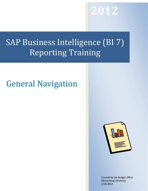 tutorial sap business intelligence sap business intelligence bi pdf