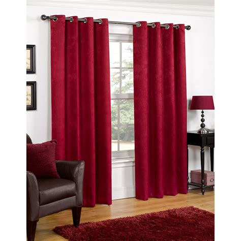 premium curtains b m valencia textured premium blackout eyelet curtain 66 x