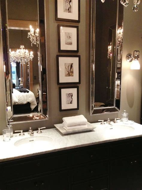 long bathroom mirror 56 best images about master bathroom on pinterest