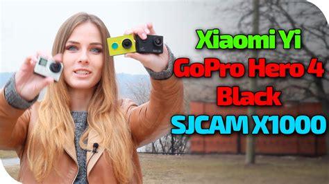 Sjcam X1000 Black xiaomi yi sjcam x1000 gopro 4 black