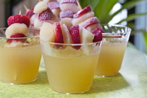 sparkling celebration punch recipe non alcholic divas can cook