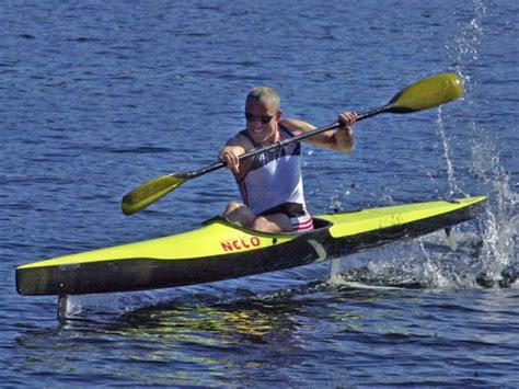 hydrofoil rowing boat hydrofoil kayak foiling week