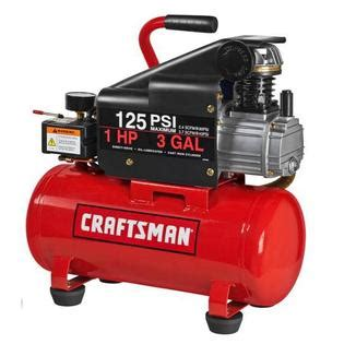 craftsman 3 gallon air compressor 3 gallon horizontal air compressor with hose and