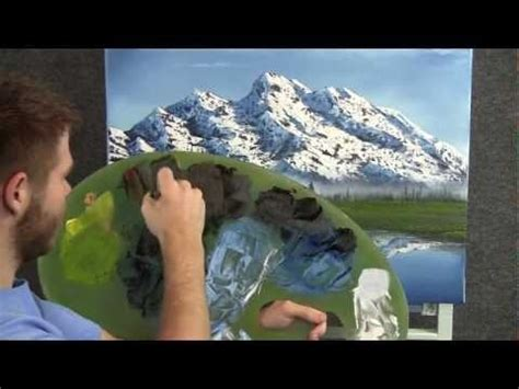 Tutorial Lake Tableau | creating an oil painting with a realistic reflection of