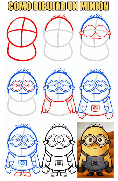 doodle draw minion como dibujar un minion