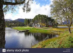 glen affric estate looking towards affric lodge on loch affric glen affric