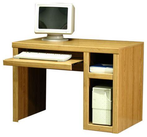 Laminate Computer Desk Woodtone Laminate Computer Desk Desks And Hutches By Furniture