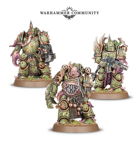 Easy To Build Poxwalker fields of blood 40k more new plague marines