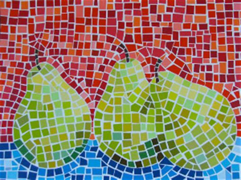 How To Make Paper Mosaic - paint chip mosaic favecrafts