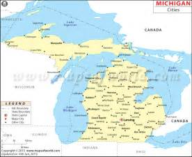 Michigan Map Cities by Best Photos Of Map Of Michigan Cities And Towns Michigan