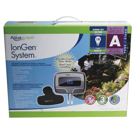 Aquascape Iongen by Aquascape Iongen G2 Electronic Water Clarifier