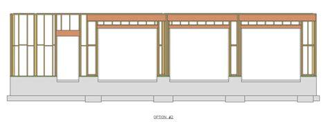 Garage Door Header Span Table by Garage Door Header Span Table Wageuzi Bedroom House Plans