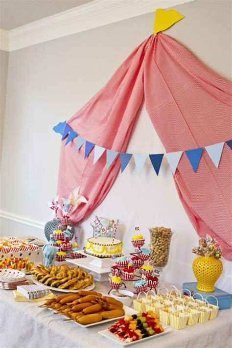 carnival themed party food 28 circus carnival themed birthday party ideas for kids