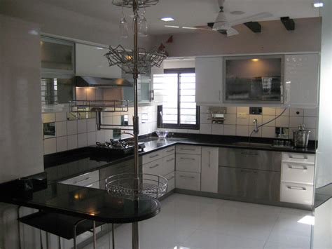Indian kitchen with a modern touch