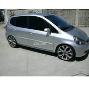 Honda Fit Com Rodas Aro 18 E Suspens&227o Fixa
