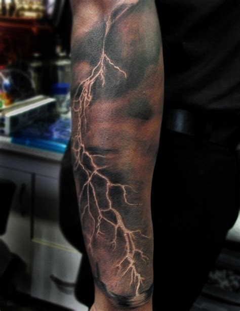 lightning tattoo tattoos by bodah