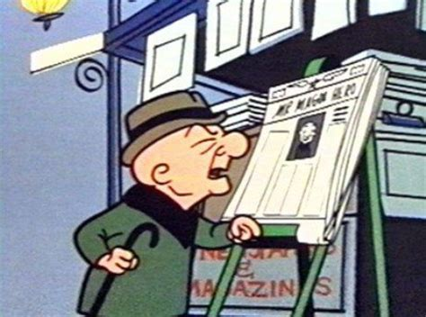 Who Mr Magoo by Image Of Mr Magoo Trying To Read A Newspaper