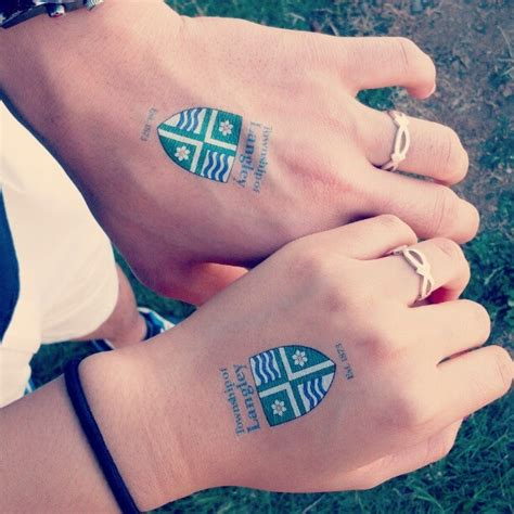 bf and gf tattoos we got matching tattoos lool we were so while we