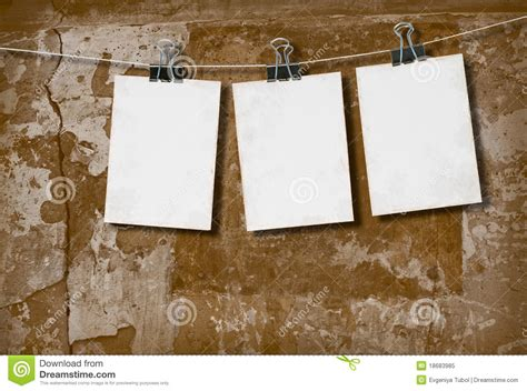 background kertas white paper on the background of the wall stock image