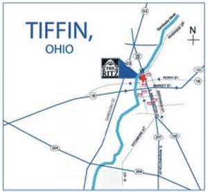 Tiffin Ohio Map by The Ritz Theatre Tiffin Oh Your Home For The Performing Arts