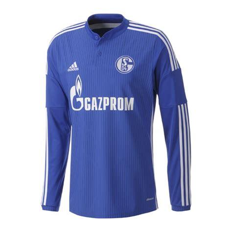 Jersey Schalke Home 201617 Official adidas fc schalke 04 trikot home la 2014 2015 gelsenkirchen jersey shirt langarm longsleeve