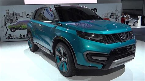Suzuki New Vehicles New Suzuki Iv4 2015 Concept Car Frankfurt 2013