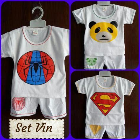 Baju Anak Galih Set Baju Murah Baju Kartun Anak Anak grosir setelan vin anak karakter kartun murah rp 13 500 baju3500