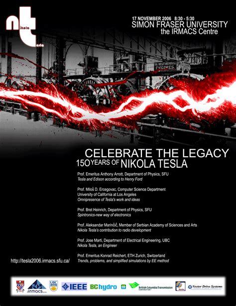 Tesla Legacy Tesla Day At Sfu
