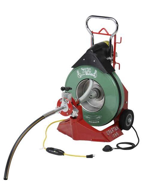 spartan cable machine model 1065 drain cleaning machine spartan tool