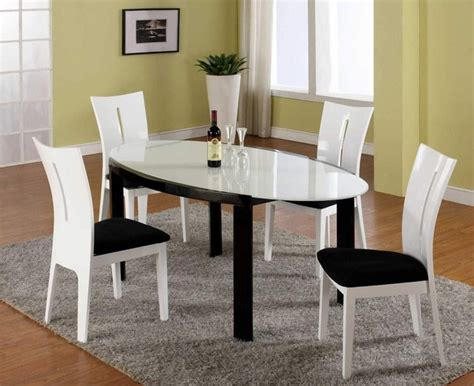 contemporary kitchen dining sets high end oval frosted glass top microfiber seats modern