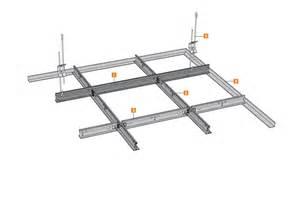 ossature plafond amf ventatec t24 type amf knauf