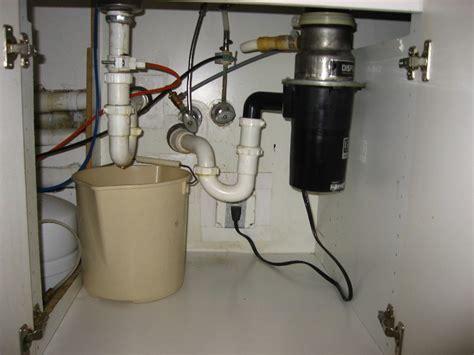 fix kitchen sink leak