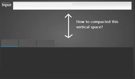 spacing in gridlayout python how do you compacted a gridlayout vertical space