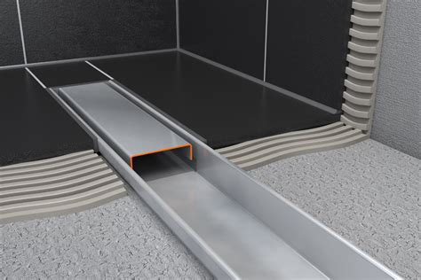Shower Grate Installation Guide by Easy Drain Compact Linear Shower Drain