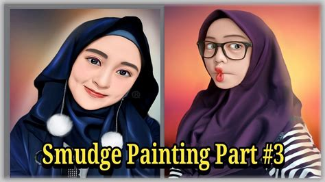 tutorial smudge sketchbook apk smudge painting android proses pembuatan mata sketchbook