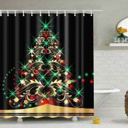 discount christmas shower curtains best 25 christmas shower curtains ideas on pinterest