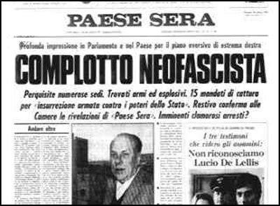 Mukena Avanty il golpe borghese ovvero quando l italia sfior 242 il