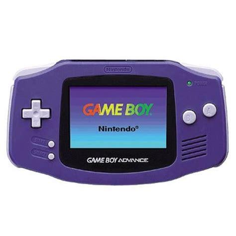 gameboy console console boy advance indigo achat vente jeu