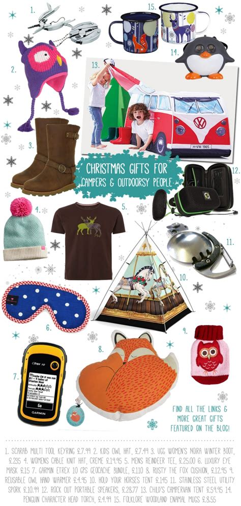 christmas gifts for cers ourdoors lovers